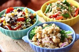 Bean and Grain Salads: Grains, Guidelines, Beans, Salads Salads, Recipes, Veggies, Black Bean