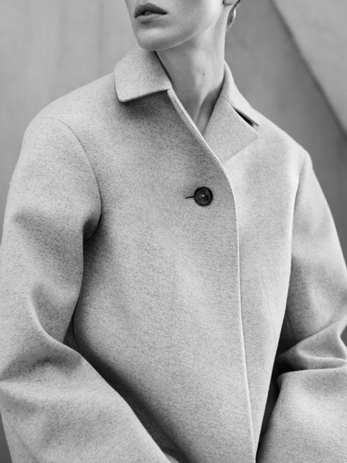 top button: Jil Sander