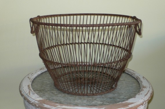 Vintage Wire Clam Basket New England By Shop12Hudson On