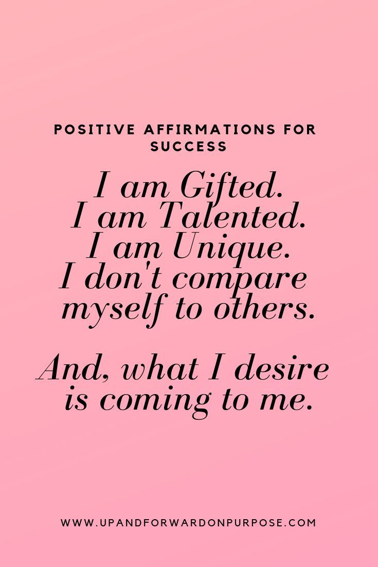 I Am Gifted And Talented Positive Affirmations Affirmation Quotes Self Love Affirmations