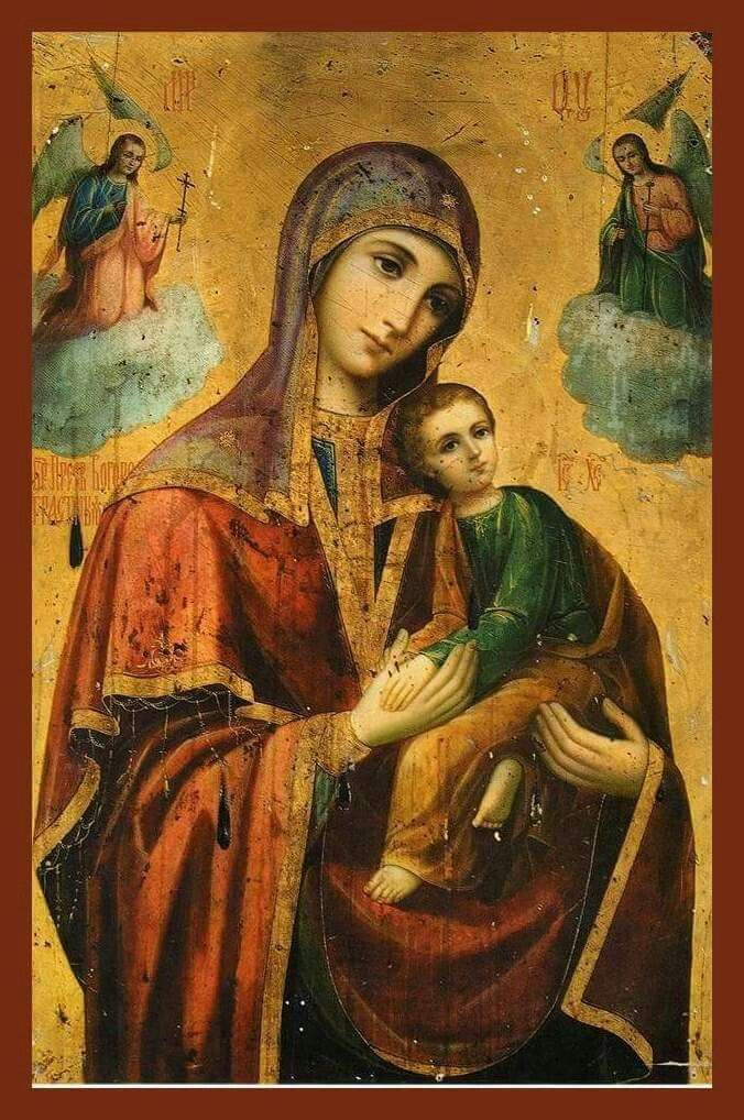 Our Lady Mother of God and  Jesus