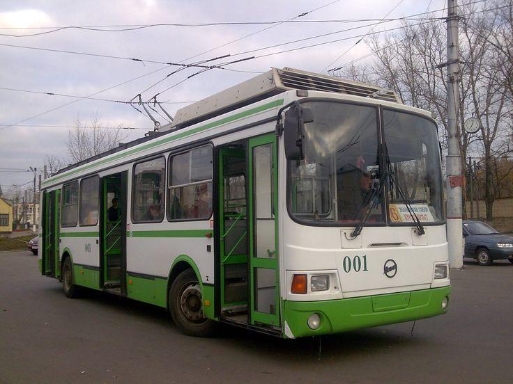 ♥♦♥ LiAZ-5280 trolleybus in Kursk Russia
