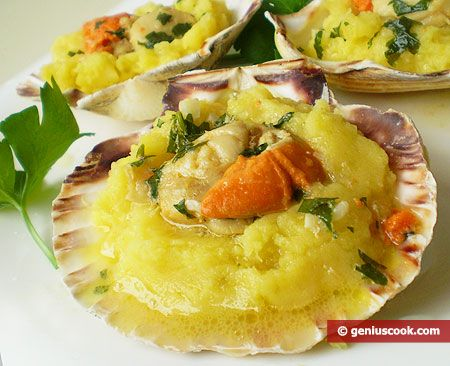 The Recipe for Scallops with Mashed Potatoes | Dietary Cookery | Genius cook - Healthy Nutrition, Tasty Food, Simple Recipes