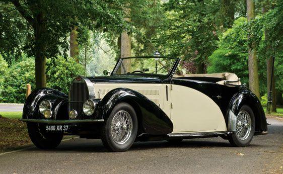 1937 Bugatti Type 57C Stelvio Cabriolet w/body by Gangloff