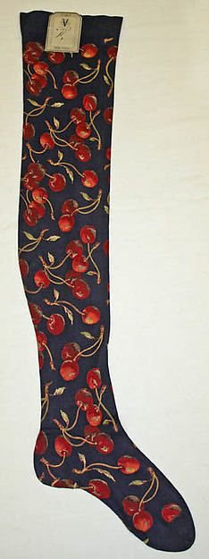 Stockings 1870   French   The Met