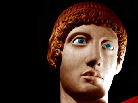 Ancient greek art wasn't black and white..!