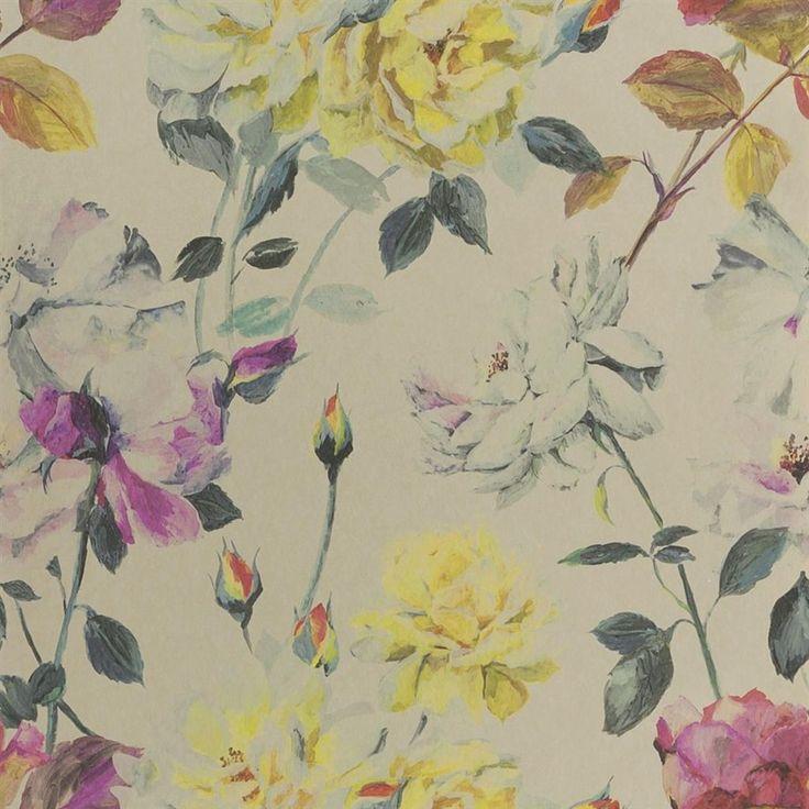 Couture Rose Tuberose Wallpaper | Designers Guild