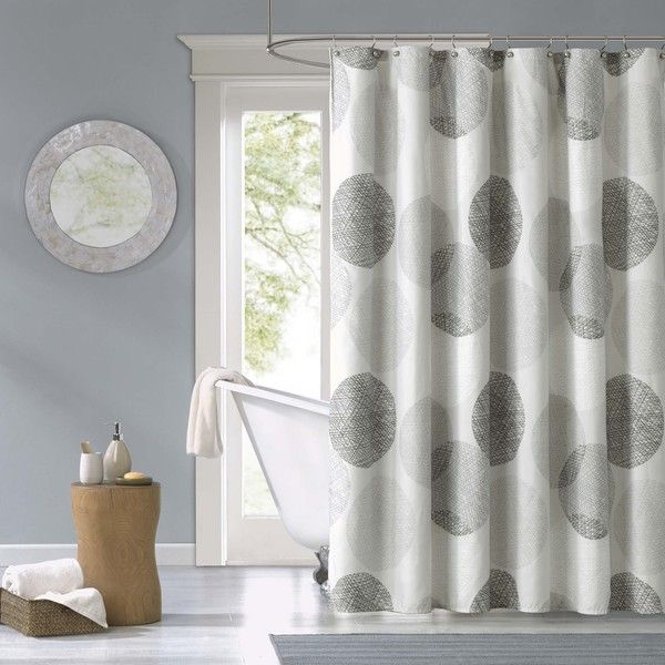 Madison Park Essentials Glendale Printed Shower Curtain - Overstock™ Shopping - Great Deals on Madison Park Shower Curtains