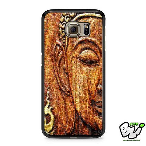 Antique Buddha Face Samsung Galaxy S7 Edge Case