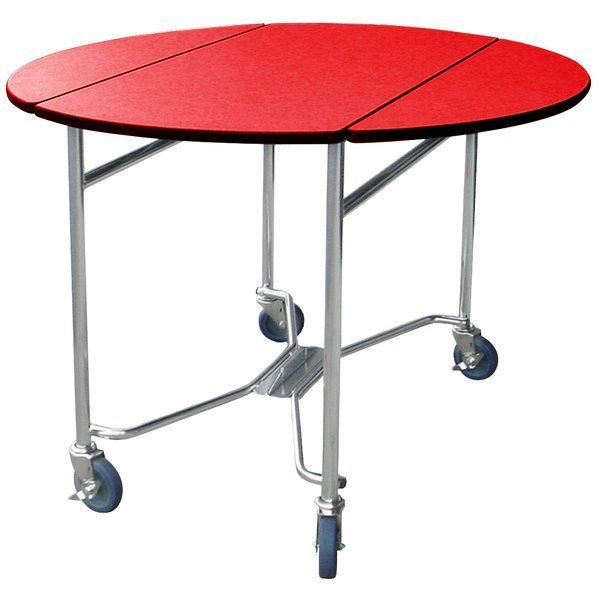 Mobiler Rundtisch Zimmerservice Tisch Lakeside 412rd Mit Roter Oberflache 40 X 40 X 30 412rd Lakeside Mobiler Roter Rundtisc Table Leaf Table Room
