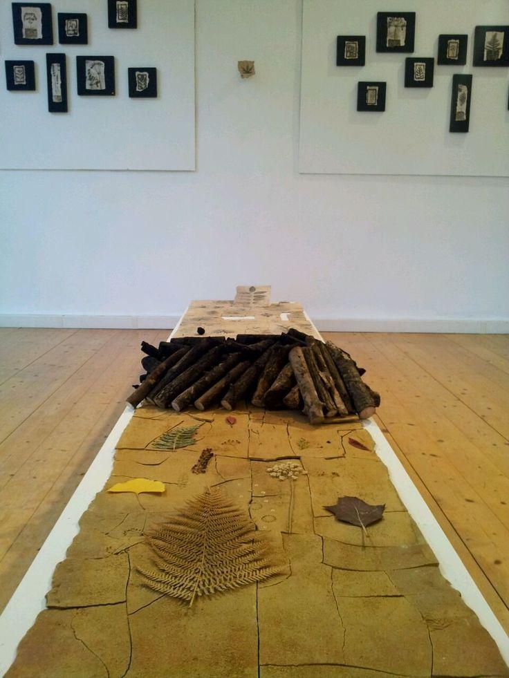 """Mostra personale Giovanni Maffucci """"Pittura con il fuoco"""" Esposizione alla Galerie Gutekunst, Reutlingen 2015 ceramic art by Giovanni Maffucci"""