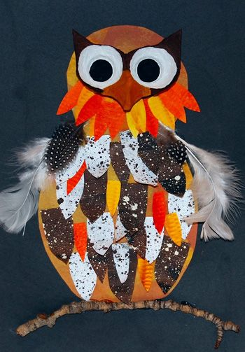 16 best owl crafts images on pinterest