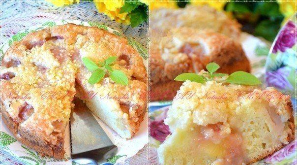 Невероятно вкусный пирог с персиками! Невозможно остановиться!