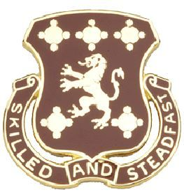 704th Maintenance Battalion Unit Crest (Skilled And Steadfast)