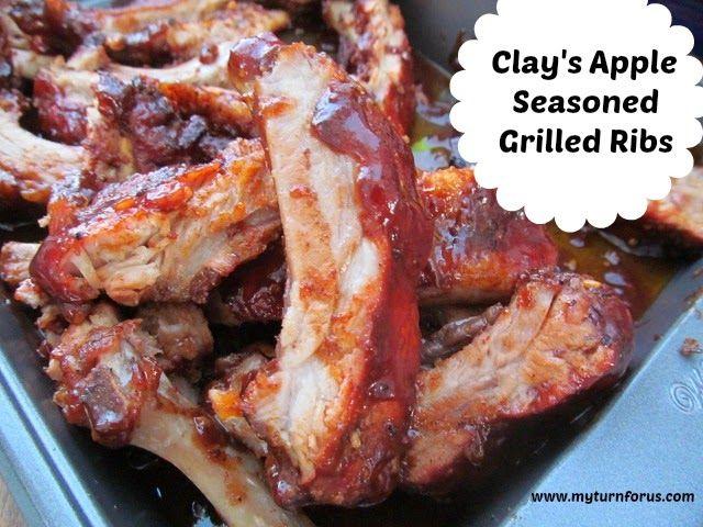 Clay's Apple Seasoned Grilled Ribs