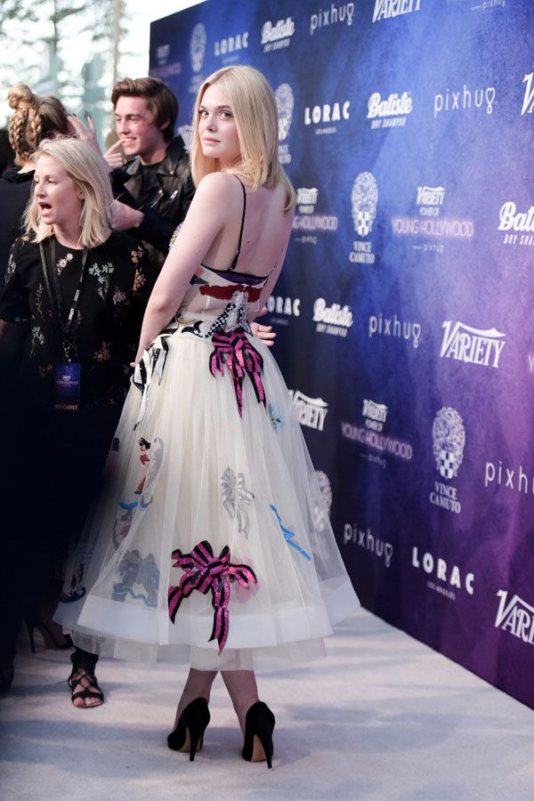 Elle Fanning attends Variety's Power of Young Hollywood at NeueHouse Hollywood…