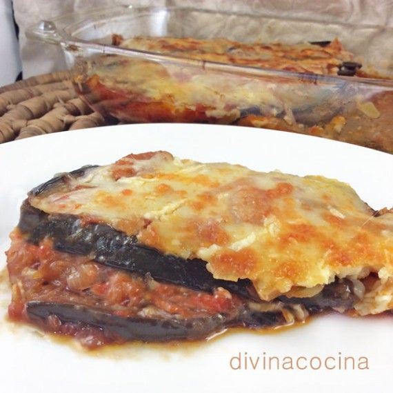 Berenjenas-parmesana, con receta.