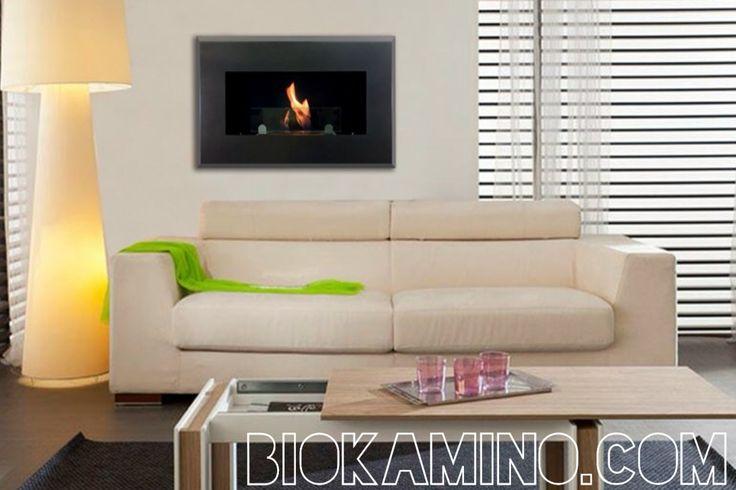 RAFFAELLO: Dallo stile geometrico e originale, Raffaello e' un bioKamino da parete, ottimo per donare un tocco di eleganza e di calore all'arredamento circostante. La sensazione della fiamma autentica incorniciata dallo stile tutto italiano del bioKamino Raffaello sapra'conquistare gli ospiti e i padroni di casa. Dispone di bruciatore bioKamino estremamente sicuro ed ecologico.