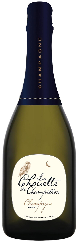 La Chouette de Champillon Champagne Brut samppanjat 29,- hs testivoittaja Väriltään vaalea samppanja. Melko runsaassa ja monipuolisessa tuoksussa on briossia, kukkaa ja marmeladiakin. Vaahto on hyvä ja kepeän kermainen. Maku on hyvin hapokas, keskipitkä ja kuiva. Samppanjassa on tasapainoista hedelmäisyyttä, jossa on mukana lievää leipämäisyyttä. Oikein miellyttävä samppanja, joka maistuu sellaisenaan juotuna. alle 30