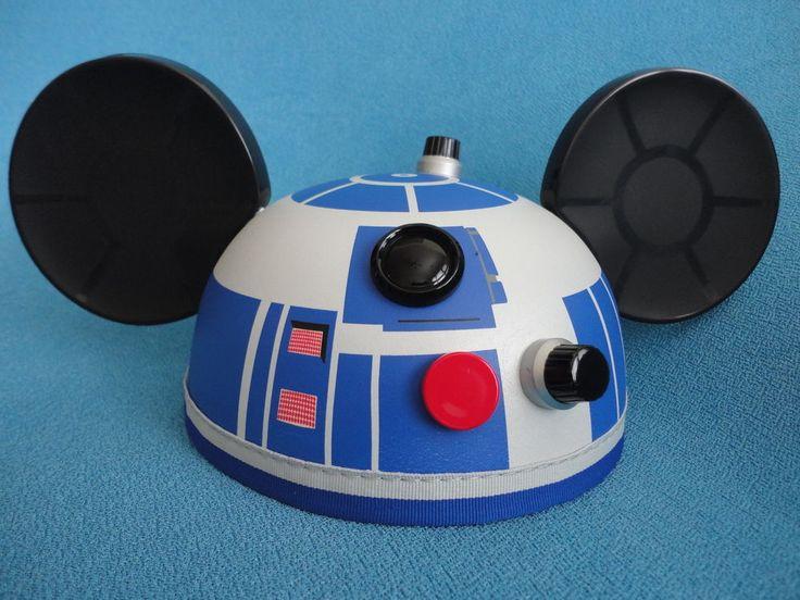 Disney Star Wars R2-D2 Mickey Mouse Ears Hat
