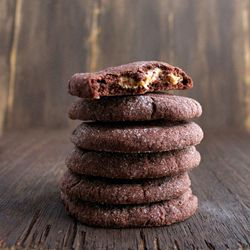 Magic in the Middle Cookies - Decadent chocolate cookie with sweet and ...