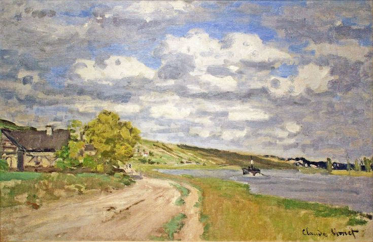 The Estuary of the Seine, 1868 - Claude Monet - WikiArt.org