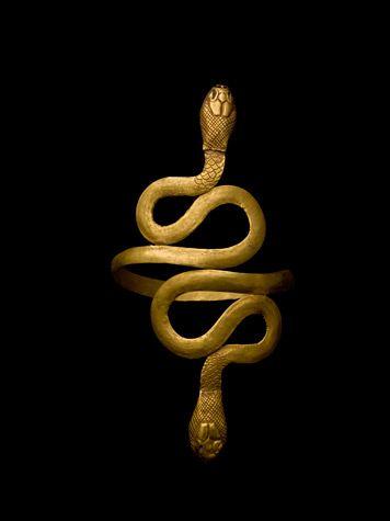 From ancient Egypt, Cleopatra's bangle