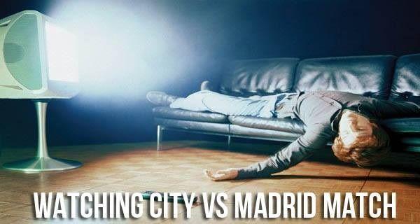 Koszmarnie nudny półfinał Ligi Mistrzów • Kibice podczas oglądania meczu Manchester City vs Real Madryt • Wejdź i zobacz więcej >> #football #soccer #sports #pilkanozna