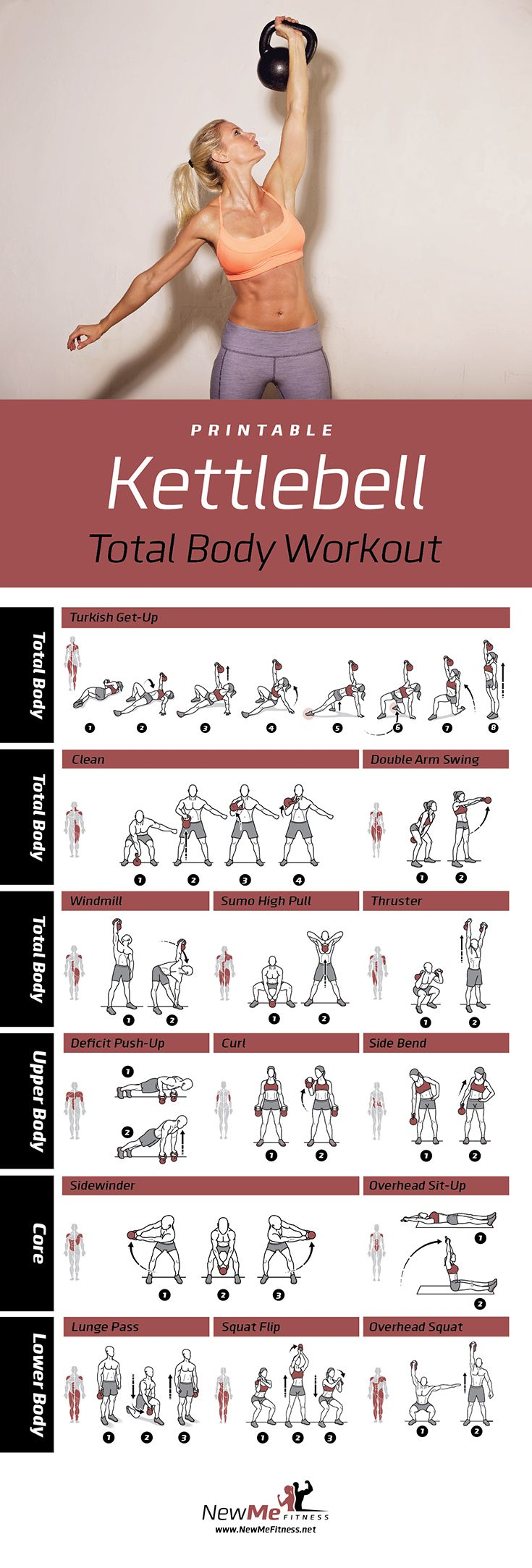 Best All-around Kettlebell Workout Out there. Get Stronger, Lose Weight & Feel like a Superhuman!