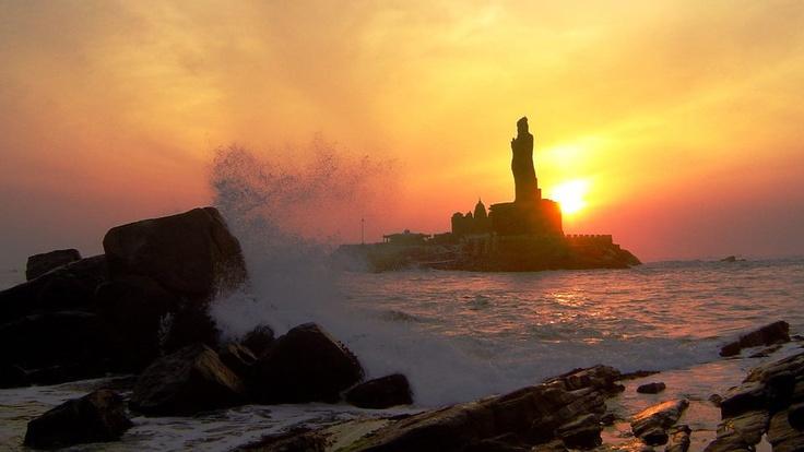 Sun rise @ Kanyakumari,