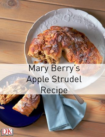 Mary Berry's Apple Strudel Recipe: To celebrate Mary Berry's new book Baking With Mary Berry, we're sharing the recipe for her delicious apple strudel! View it here: http://www.dk.com/us/explore/food-and-drink/baking-with-mary-berry-apple-strudel/