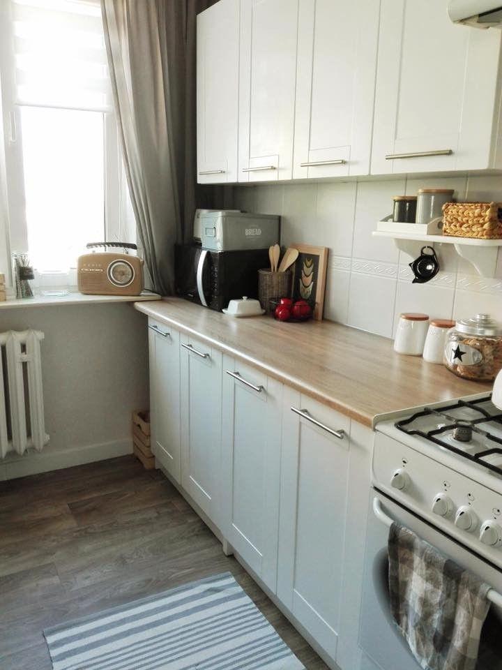 Kuchnia W Bloku Mala I Waska Podpowiadamy Jak Ja Urzadzic Kitchen Tiny Kitchen Kitchen S