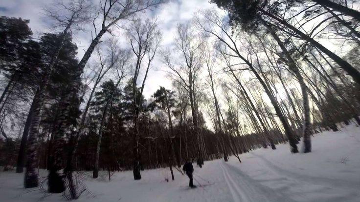GoPro Hero 3+ :Беговые лыжи - http://sportmetod.ru/video/snow/gopro-hero-3-begovye-lyzhi.html