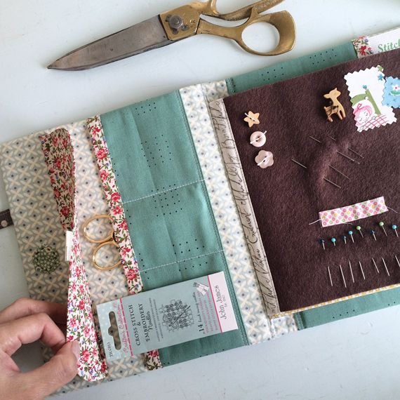 Book Cover Sewing Kits : Best needle book ideas on pinterest case