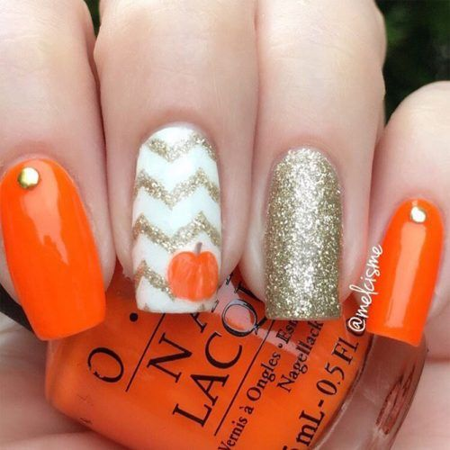 42 Irresistible Thanksgiving Nails Ideas For Every Taste – Nail art