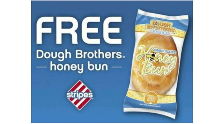 HURRY! FREE Honey Bun at Stripes Convenience Stores (date 5/23 & 5/24) ONLY (TX,OK, NM) - http://gimmiefreebies.com/free-honey-bun-at-stripes-convenience-stores-date-52316-and-52416-only-tx-ok-nm/