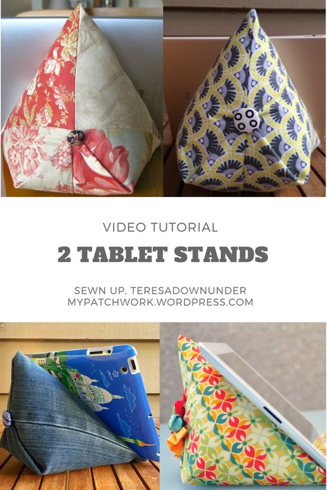 Video tutorial: two 15-minute tablet stand