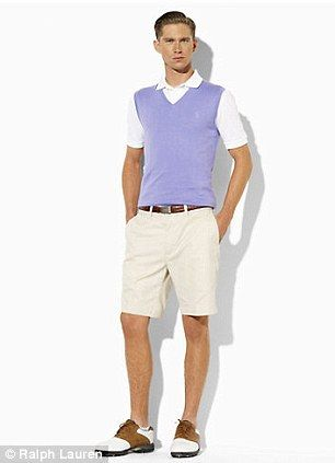 A great men\u0027s golf outfit. Too many people hate on the sweater vest, but