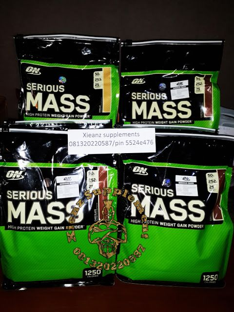 Xienz Supplement: ON SERIOUS MASS SUPLEMEN FITNES
