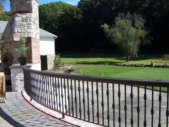 Make Your Outdoors Look Amazing With This Wrought Iron Look. Patio  RailingRailing ...