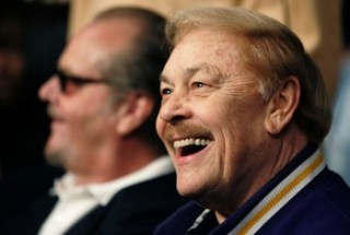 Los Angeles Lakers owner Jerry Buss passes away at age79 (Photo: Mike Blake / Reuters) #Basketball #NBA