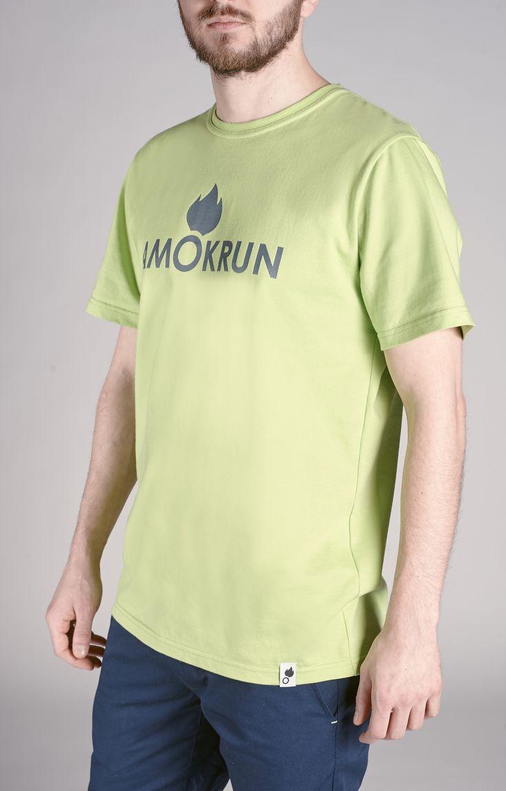 Amokrun Navyfresh Tshirt Green. Classic tee with #streetwear style. www.amokrun.com