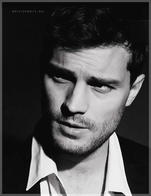 Jamie Dornan....still having trouble picturing him as CG but damn he's sexy