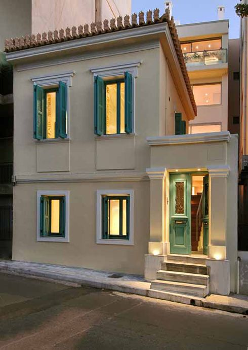 Detached house in Exarchea, Athens - Greece, Katerina Valsamaki | ArchiTravel, http://katerinavalsamaki.gr/