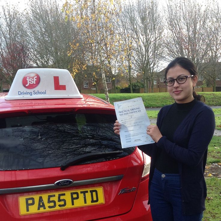 """JSF Pete has helped me immensely in gaining my confidence & more importantly to believe in myself. Throughout my lessons he has talked me through whenever necessary regardless whether on my first lesson or test day. He is a great instructor for anyone wanting to learn to drive. I cannot wait to insure my car and get on the road, thank you."" Great result for Alisha Khadgi Kumal who passed her practical driving test on 19th November, 2016 at Gloucester Test Centre. Congrats from #JSFDriving"
