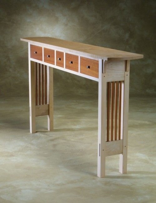 Narrow Sofa Table With Drawers Coffee Side Tables
