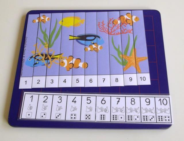 Numération avec auto-correction par puzzle