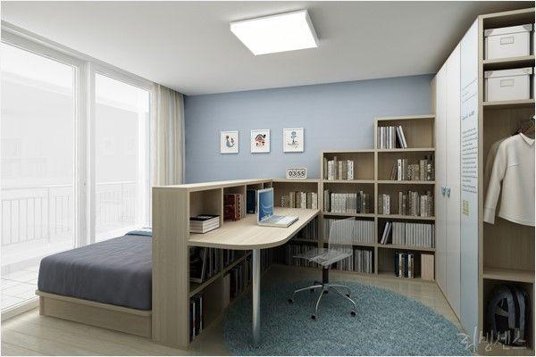 best 25 small desk bedroom ideas on pinterest small desk for bedroom desk ideas and shelves. Black Bedroom Furniture Sets. Home Design Ideas