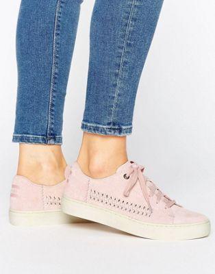 TOMS - Lenox - Scarpe da ginnastica scamosciate rosa pallido