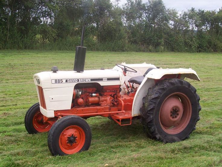 David Brown 885 Selectamatic Tractor